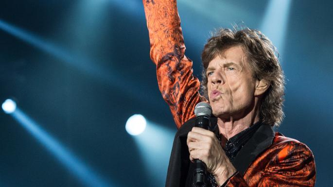 THE ROLLING STONES-JAGGER-ANGIE-
