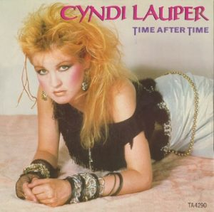 Cyndi Lauper and Time after time