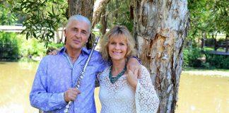 Terry Oldfield and Soraya Saraswati